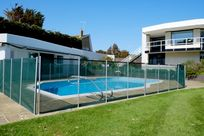 Outdoor heated pool, open May-September