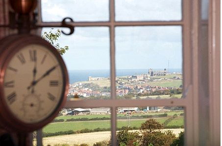 The view from the original sash windows at Two Sneaton Hall