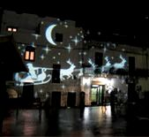 Christmas decorations in Ostuni