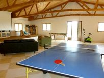 The huge games room - see more detailed pictures later in this listing!