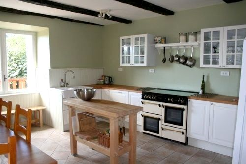 The light and spacious kitchen is equipped with everything you could need to cater for a large group.