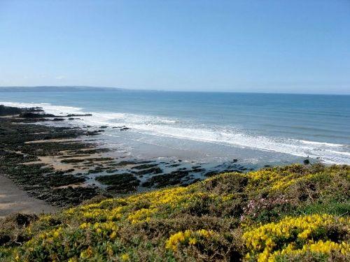 The stunning coastline