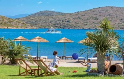 Family Friendly Holidays at Elounda Gulf Villas & Suites - Deluxe Family Suite