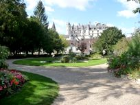 Loches - public gardens a great place to play, picnic, watch the world go by or pause after a busy time sightseeing.