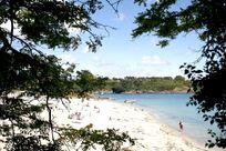 Beach at St Nicolas, near Pont Aven