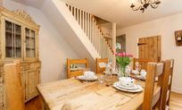 Dining Room with Woodburner and small office