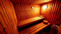 Broomhill Manor sauna