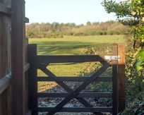 Your private gate directly onto the New Forest National Park