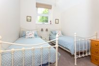 Twin room with full size single beds