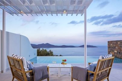 Family Friendly Holidays at Elounda Gulf Villas & Suites - Superior Suite with Private Pool