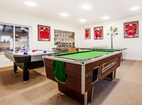 The games room at Clydey