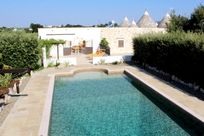 Stunning heated and gated pool, 12 x 6 m with Roman steps, great for the little ones!