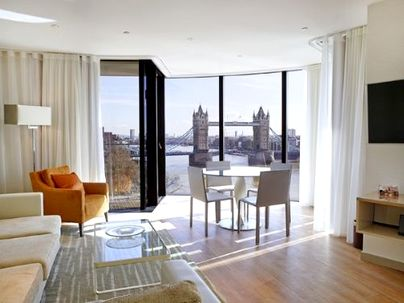Family Friendly Holidays at Cheval Three Quays - River Deluxe 2-Bedroom