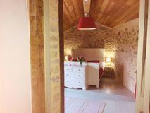 La Bergerie double bedroom