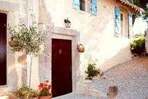 La Bergerie front door