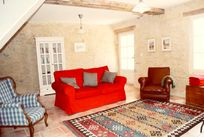 La Bergerie living room