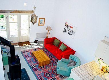 Hayloft living space