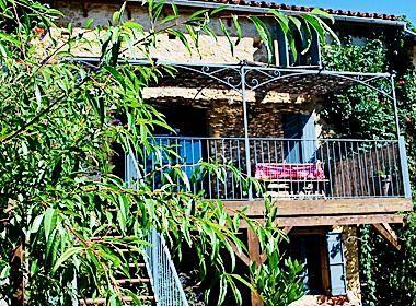 Hayloft balcony / terrace