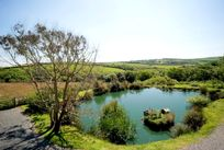 View of the Duck Pond with far reaching views over the valley