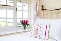 One of the characterful bedrooms
