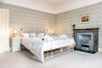 One of the pretty double bedrooms