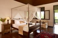 The three double rooms all have extra king size beds