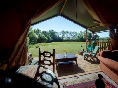 Family Friendly Holidays at Black Pig Retreats Ltd - MUKOTA | Safari Tent