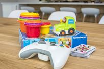 Baby toys and playstation 4