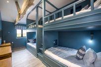 Quad cabin bunk room