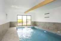 Private heated indoor pool