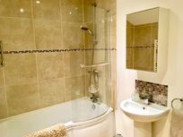 Luxury en-suite bathroom off the master bedroom