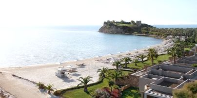 Family Friendly Holidays at Sani Asterias - Suite with Marina View