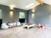 Indoor playroom suitable for all ages