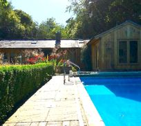 Sunnydell - Forest Getaway with Pool and Playroom Image 19