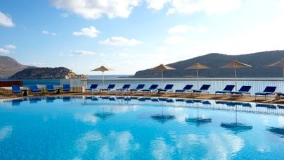 Family Friendly Holidays at Domes of Elounda - Premium Suite (Sea View + Hot Tub)