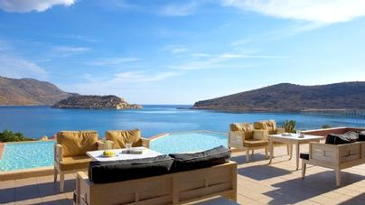 Family Friendly Holidays at Domes of Elounda -Premium Suite (Sea View+ Private Pool)