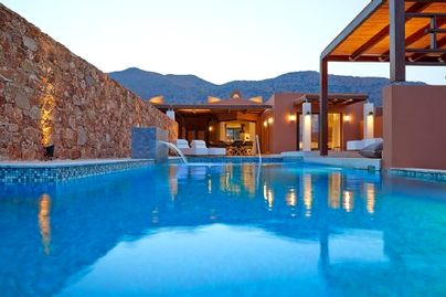 Family Friendly Holidays at Domes of Elounda - Luxury Residence + Pool (4 bed)