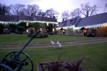 Xmas Lights outside the Farmhouse, Tansy and Heather Cottages.jpg