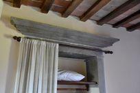 Beautiful pietra serena wardrobe in bedroom
