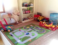 The Games Room: just a few of the toys and books provided for children of all ages.