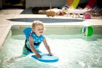 Baby pool is ideal for little toddlers