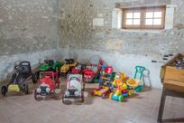Some of the toys in the Bergerie