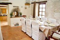 The Farmhouse dining room