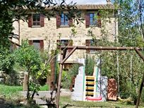 Play area near the olive grove