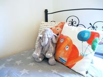 ALL KIDS BEDS HAVE A CUDDLY TOY