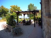 The Cascina - Terrace with shade & amazing views