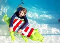 OUR POOL IS PERFECT FOR OLDER CHILDREN AS WELL AS TOTS