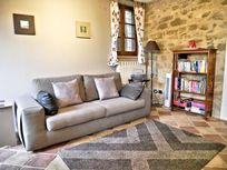 Comfortable second lounge area