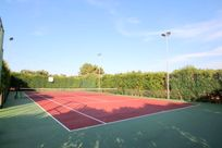 Newly refurbished tennis