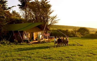 Family Friendly Holidays at Tapnell Farm - Safari Tent 2